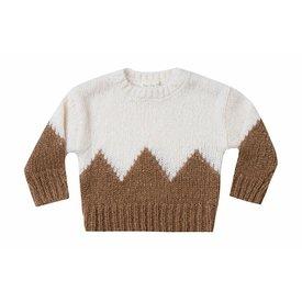 Rylee + Cru Rylee + Cru Aspen Sweater - Ivory/Caramel