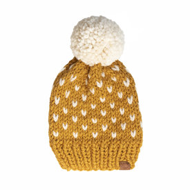 S. Lynch Knitwear S. Lynch Knitwear Adult Hat - Mustard Fair Isle