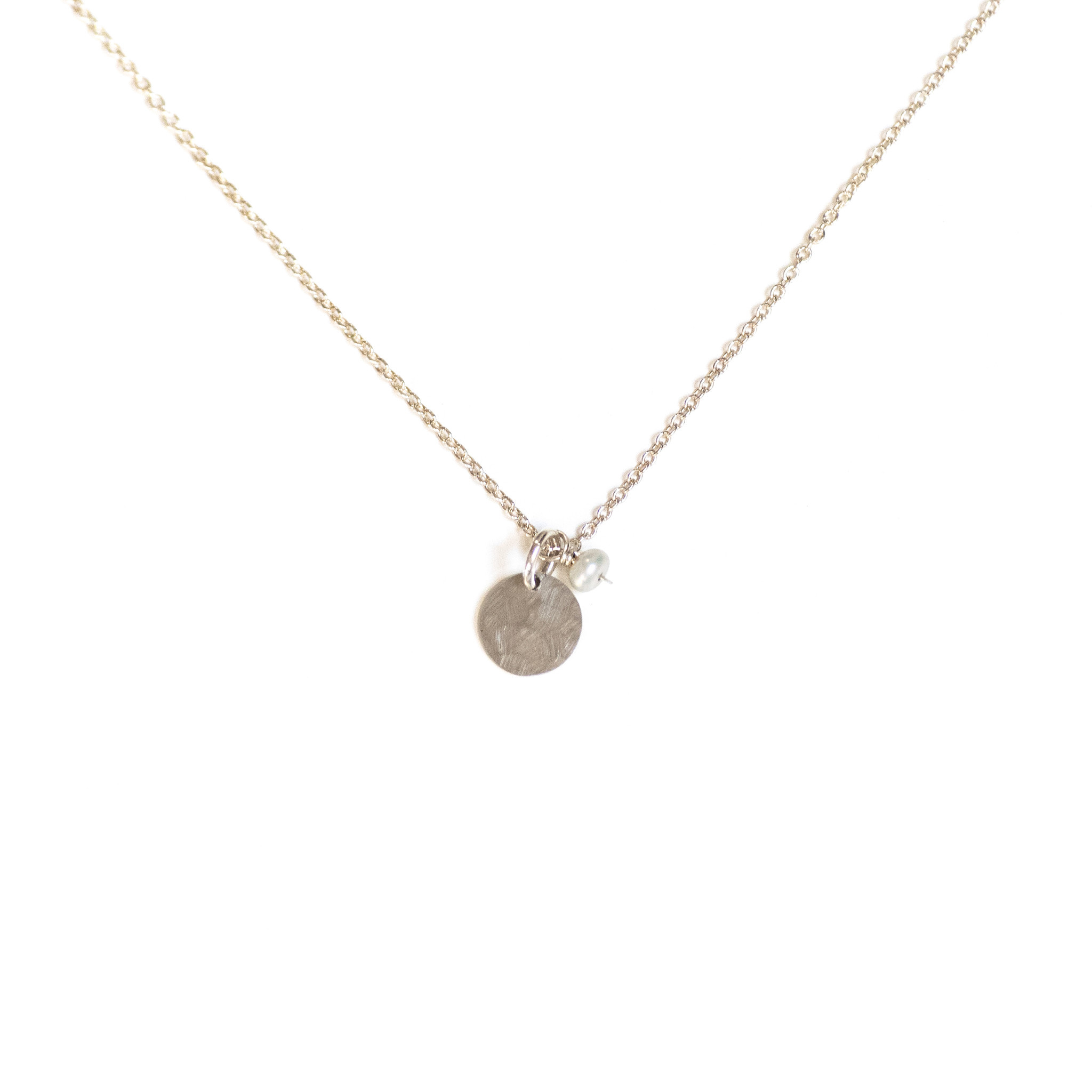 Emma Alexander Pearl Charms Necklace - Silver