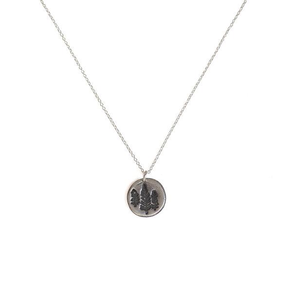 Emma Alexander Emma Alexander Pine Tree State Necklace - Sterling Silver