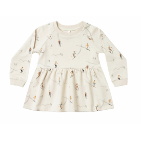 Rylee and Cru Rylee + Cru Ski Raglan Dress - Wheat