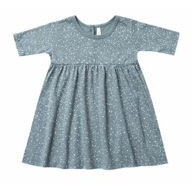 Rylee and Cru Rylee + Cru Snow Finn Dress - Dusty Blue