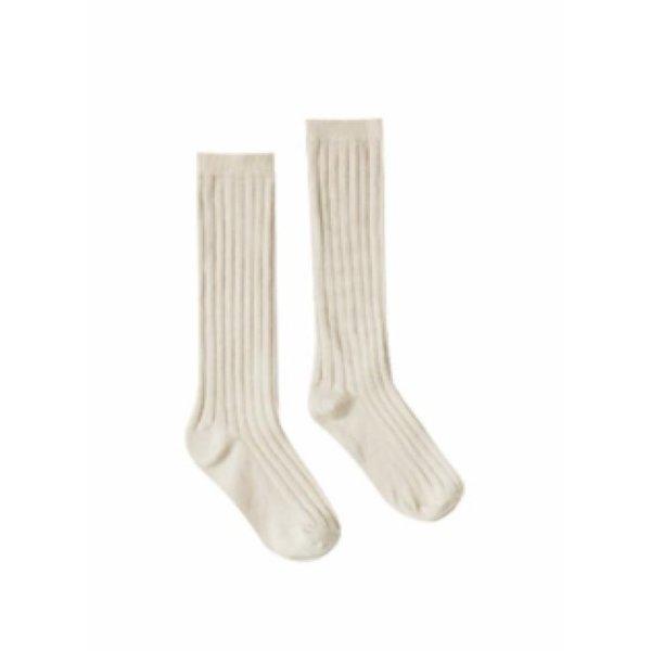 Rylee + Cru Rylee + Cru Solid Knee Socks - Wheat