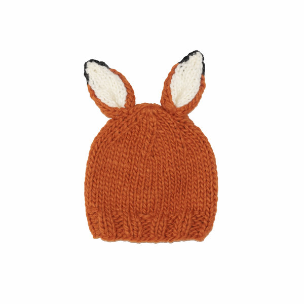 The Blueberry Hill The Blueberry Hill Baby Hat Rusty Fox