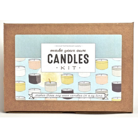 Revival Homestead Supply Revival Homestead Supply Soy Candle Kit - Pine