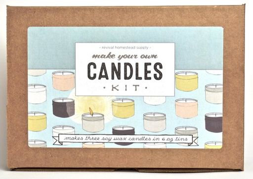 Revival Homestead Supply Soy Candle Kit - Lavender