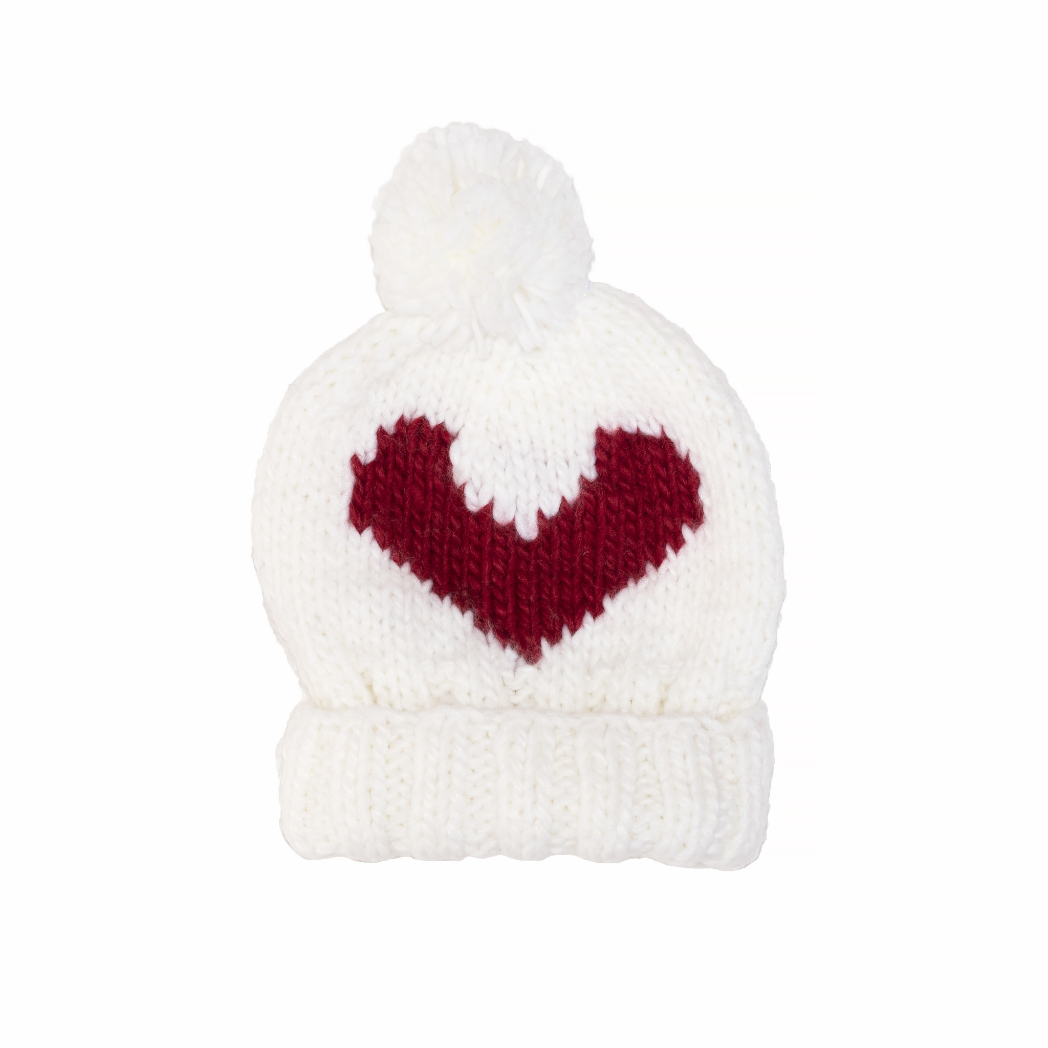 The Blueberry Hill The Blueberry Hill Heart Beanie