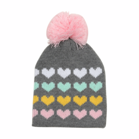 Tiny Whales Tiny Whales Heart Stacks Beanie