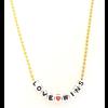 Little Lux Love Wins Necklace