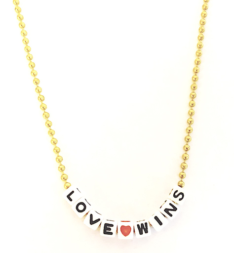 Gunner & Lux Gunner & Lux Love Wins Necklace