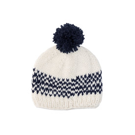 The Blueberry Hill The Blueberry Hill Adult Fair Isle Hat - Navy - L