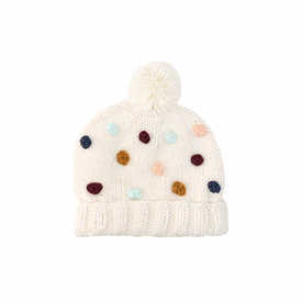 The Blueberry Hill The Blueberry Hill Adult Percy Beanie - Natural - L