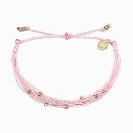 Pura Vida Pura Vida Bracelet Malibu - Gold/Light Pink