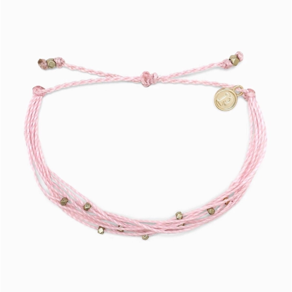 Pura Vida Bracelet Malibu Gold Light Pink