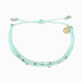 Pura Vida Pura Vida Bracelet Malibu - Gold/Winterfresh
