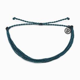 Pura Vida Pura Vida Original Bracelet - Classic Mediterranean Green Solid