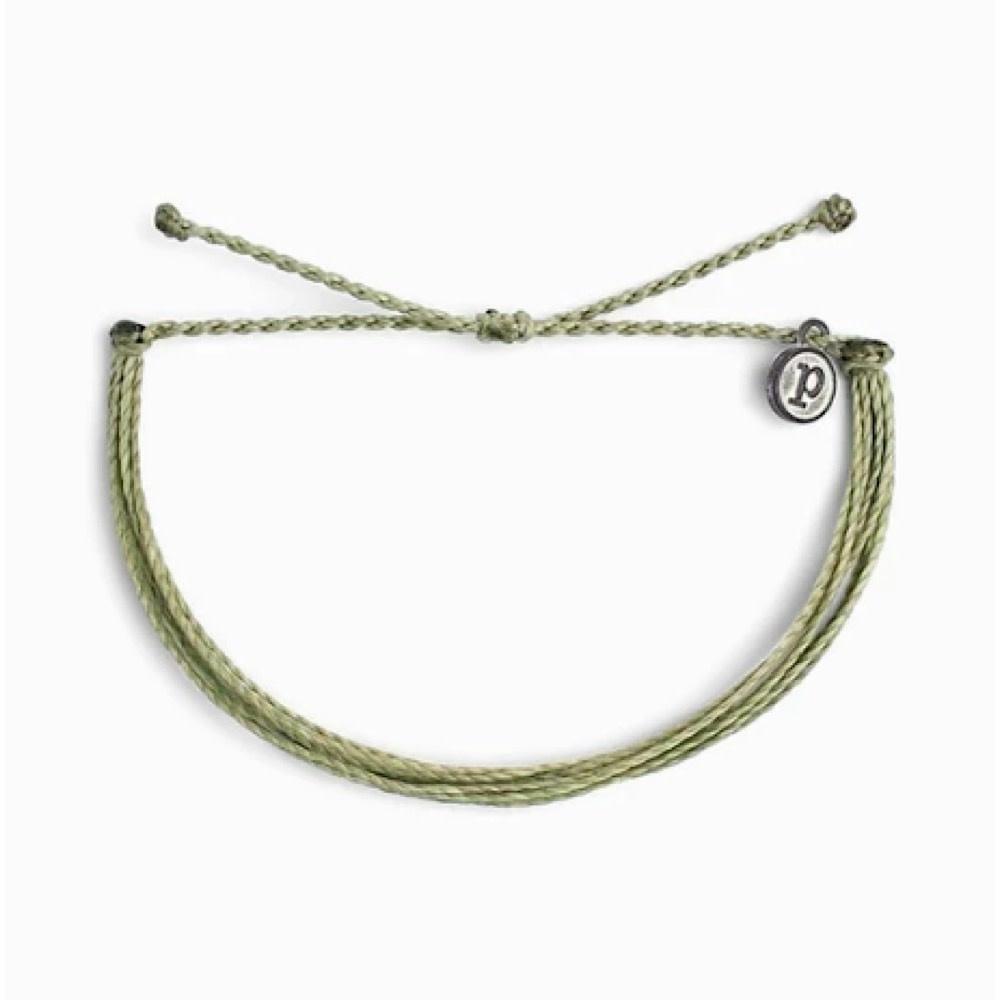 Pura Vida Pura Vida Original Bracelet - Classic Sage Green Solid