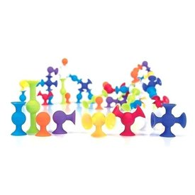 Fat Brain Fat Brain - 24 Piece Squigz Starter Set