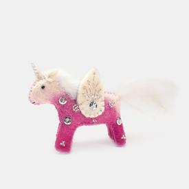Craftspring Craftspring Kid Unicorn Ornament - Pink
