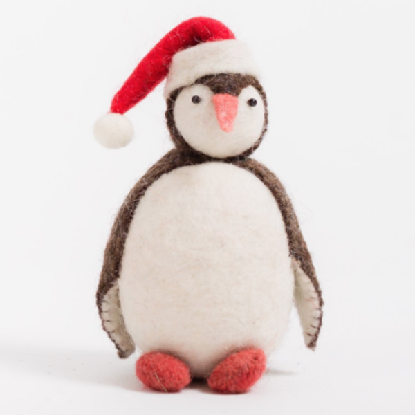 Craftspring Craftspring Eskimo Penguin with Santa Hat
