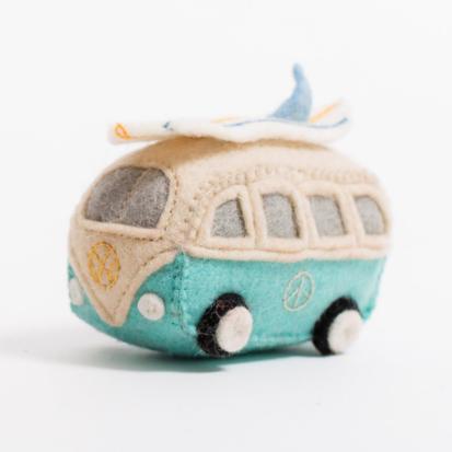 Craftspring Craftspring Surf's Up Hippie Bus