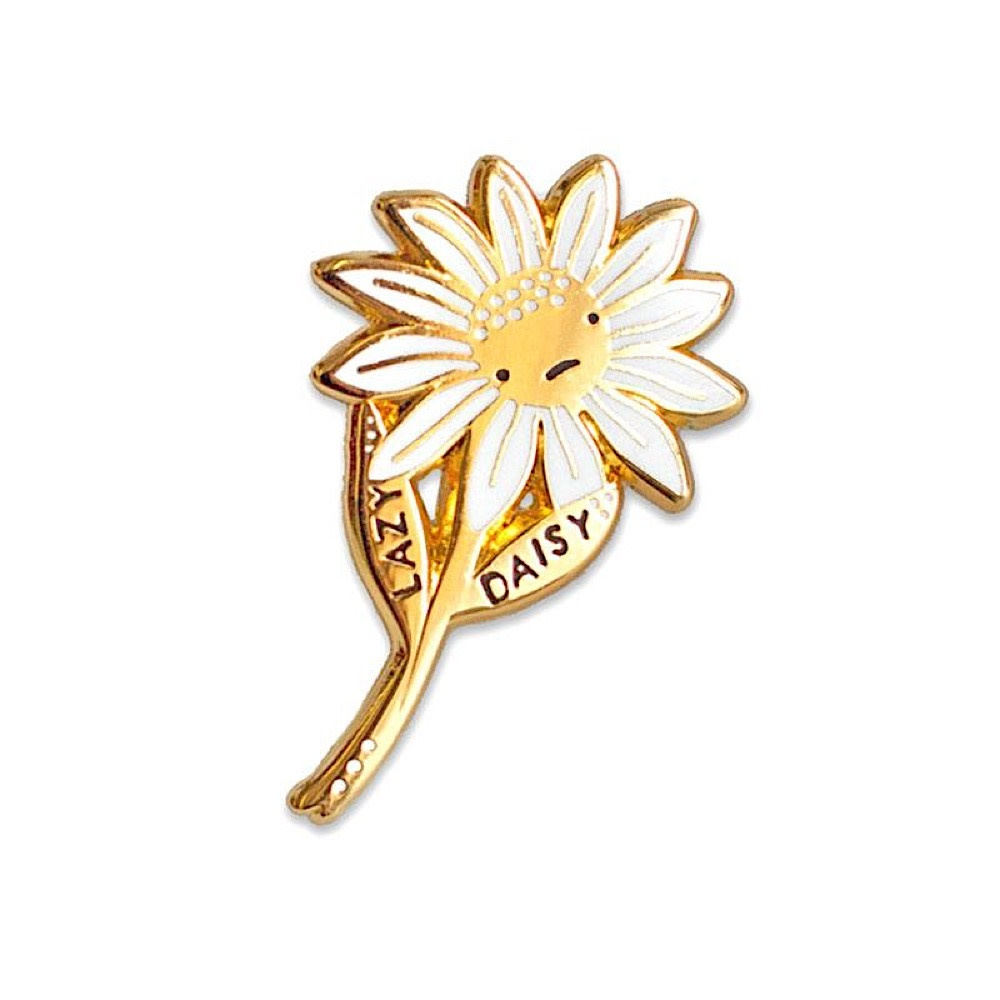 Stay Home Club Stay Home Club Lapel Pin - Lazy Daisy