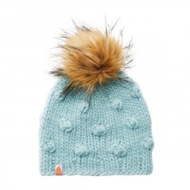 Shit That I Knit Shit That I Knit Campbell Beanie - Crystalline Faux Fur Pom