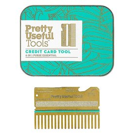 Wild & Wolf Pretty Useful Tools - Credit Card Tool - Gold