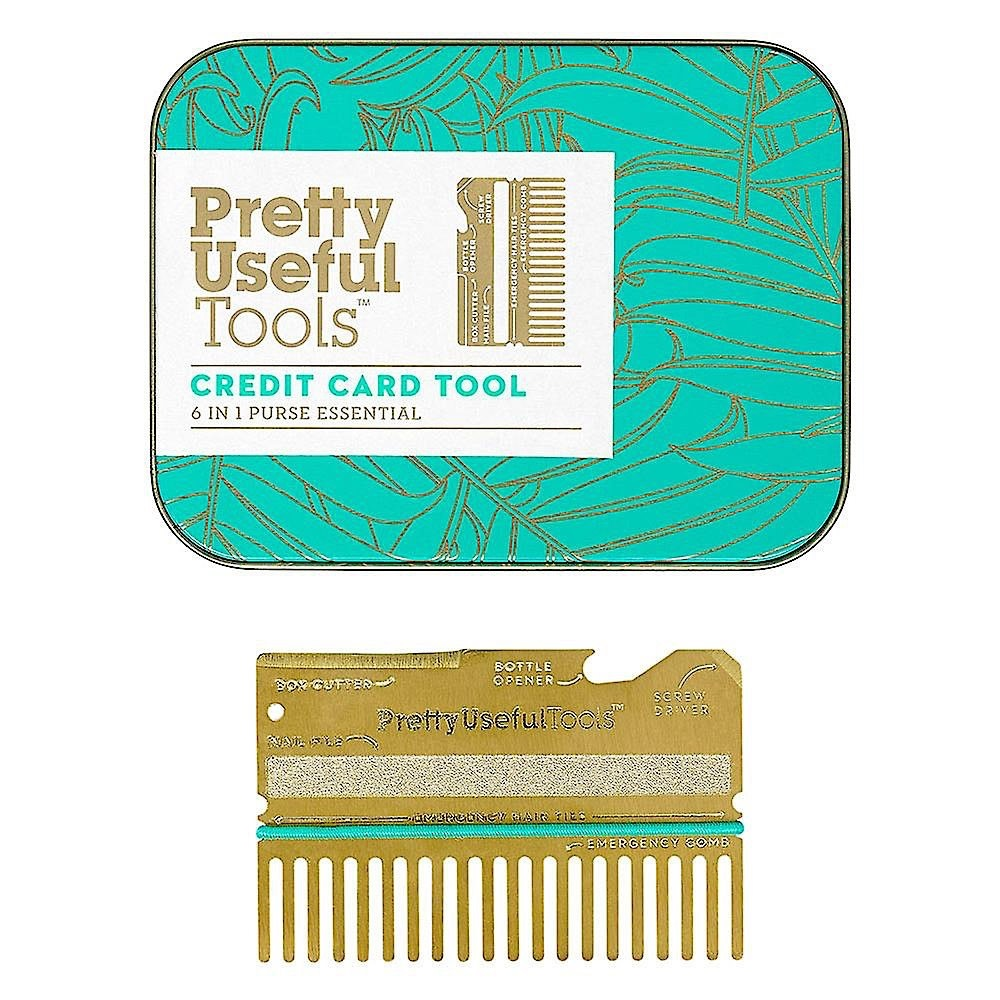 Pretty Useful Tools - Credit Card Tool - Gold