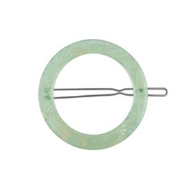 Machete Machete - Small Circle Hair Clip - Neon Mint