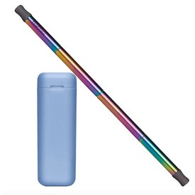 Final Straw Final Straw Blue/Rainbow Straw