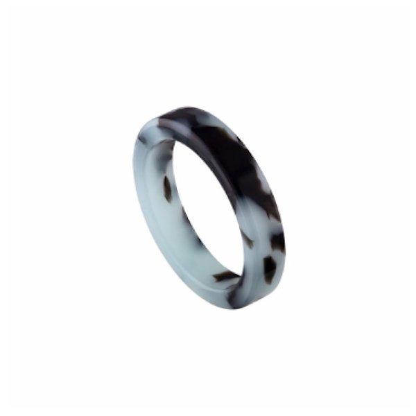 Machete Machete Thin Stack Ring - Blue Tortoise