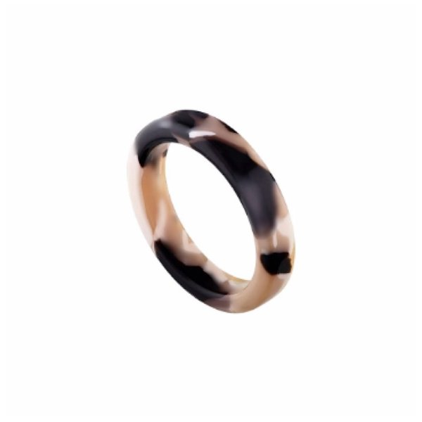 Machete Machete Thin Stack Ring - Abalone