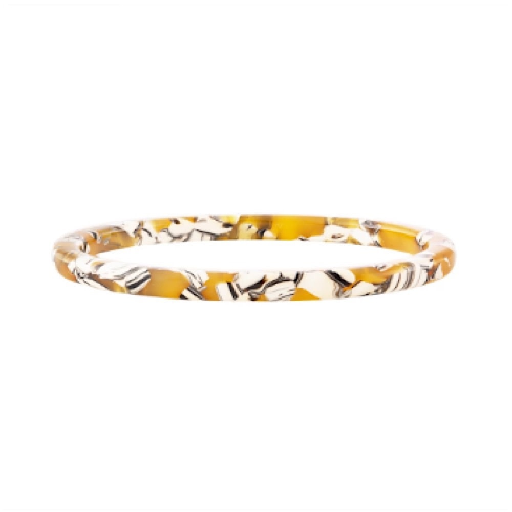 Machete Square Bangle - Calico