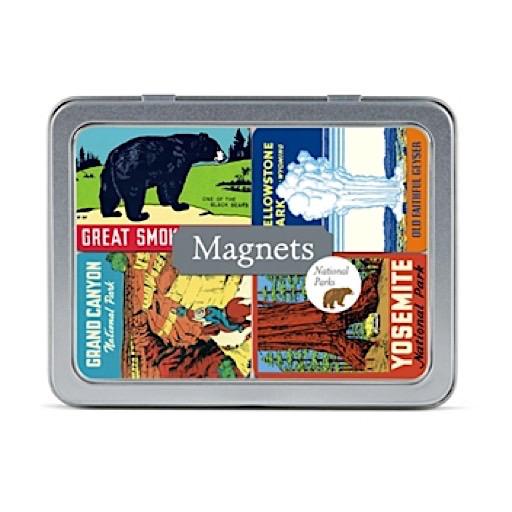 Cavallini Magnets - National Parks