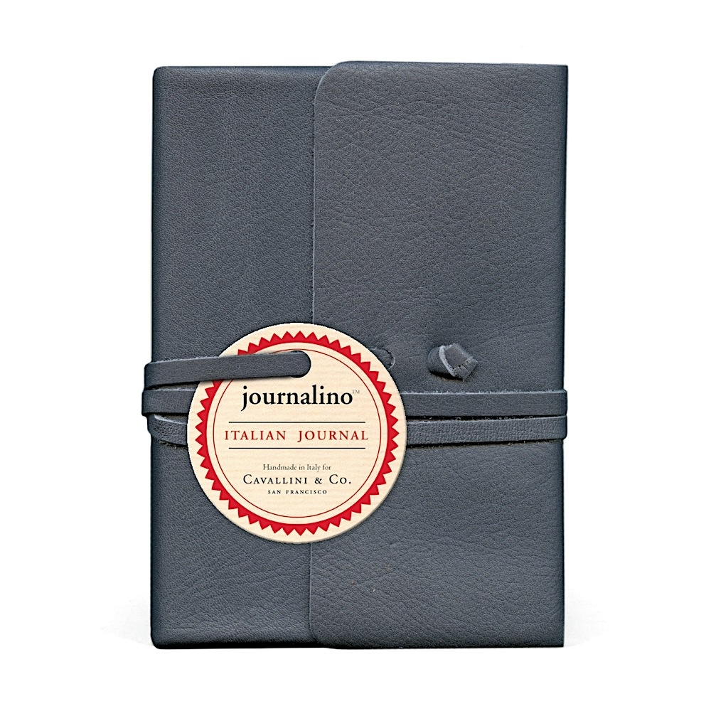 Cavallini Leather Journal - Indigo