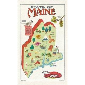 Cavallini Papers & Co., Inc. Cavallini Maine Tea Towel