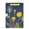 Cavallini Greeting Card - Make a Wish