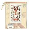 Cavallini Crustaceans Tea Towel
