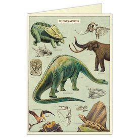 Cavallini Papers & Co., Inc. Cavallini Greeting Card - Dinosaurs