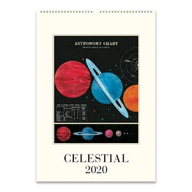 Cavallini Papers & Co., Inc. Cavallini Wall Calendar - Celestial 2020