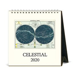 Cavallini Papers & Co., Inc. Cavallini Desk Calendar - Celestial 2020