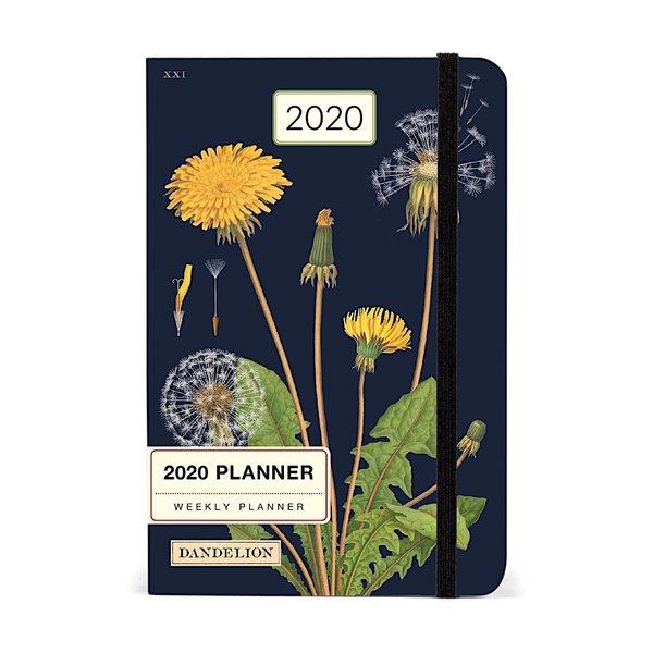 Cavallini Papers & Co., Inc. Cavallini 2020 Weekly Planner - Dandelion