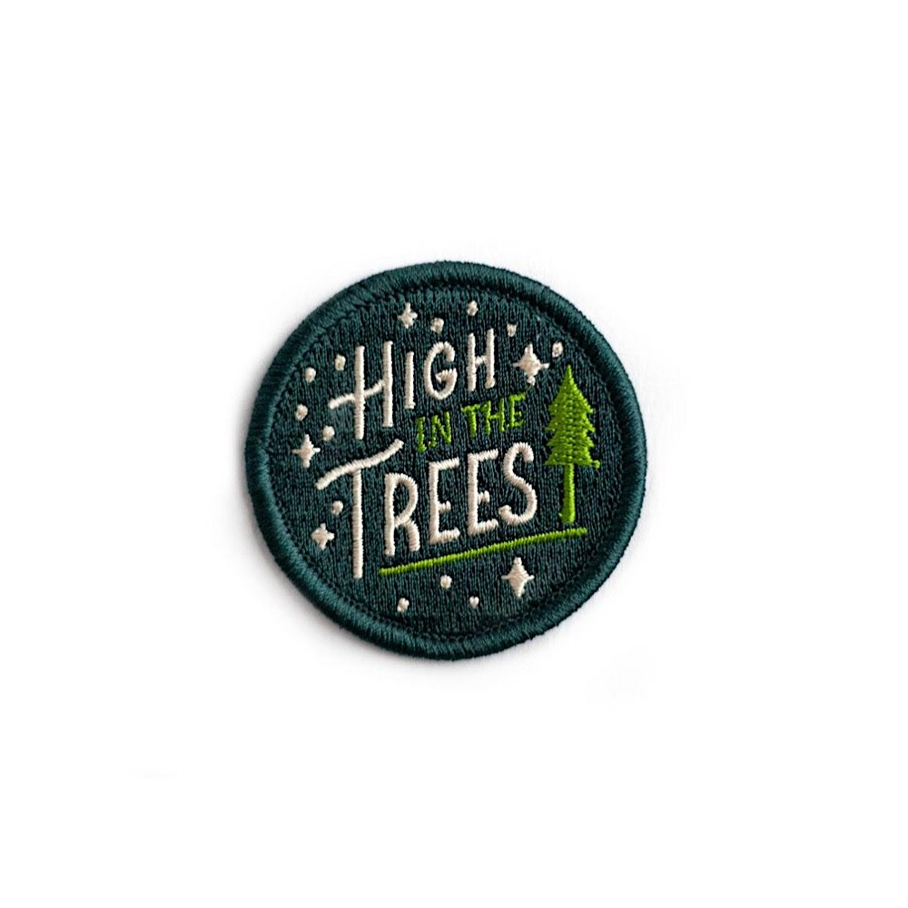 Ello There - Sticky Patch - High in the Trees