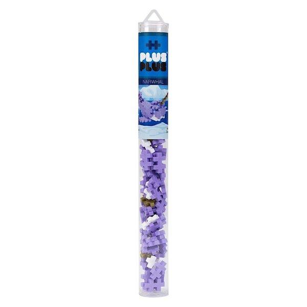 Plus Plus Plus Plus Mini Maker Tube - Narwhal