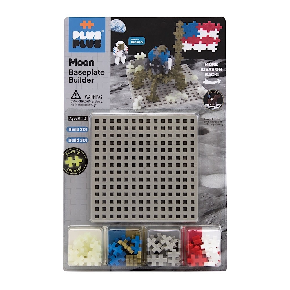 Plus Plus Baseplate Builder - Moon