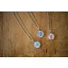 Chart Metalworks Necklace - Sara Fitz Hydrangea - XS - Pewter