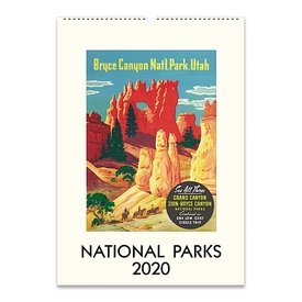 Cavallini Papers & Co., Inc. Cavallini Wall Calendar - National Parks 2020