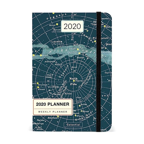 Cavallini Papers & Co., Inc. Cavallini 2020 Weekly Planner - Celestial