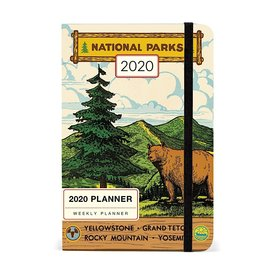 Cavallini Papers & Co., Inc. Cavallini 2020 Weekly Planner - National Parks